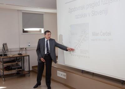 prof. dr. Milan Čerček, ustanovni vodja SFA