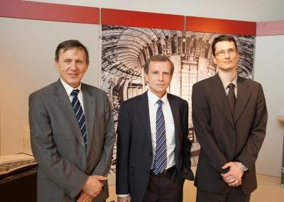 od leve: prof. dr. Milan Čerček, Simon Webster, dr. Boštjan Končar