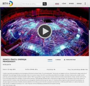 SONCE V ŠKATLI: ENERGIJA PRIHODNOSTI, INTELEKTA, Ugriznimo v znanost, RTV4D